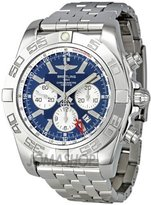 Breitling Men's BTAB041012-C834SS Chronomat GMT Analog Display Mechanical Hand Wind Silver Watch