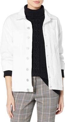 Hudson Jeans Women's Emmet Long Sleeve Boyfriend Jacket