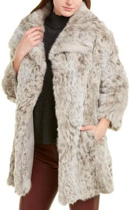 Adrienne Landau Textured Coat