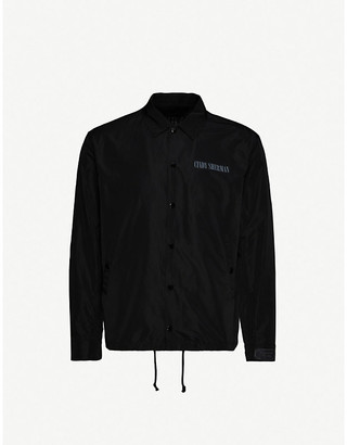 Undercover Graphic-print shell coach jacket