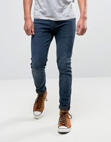 Lee Malone Super Skinny Jean Raven Wash