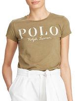 Polo Ralph Lauren Logo Cotton Jersey T-Shirt