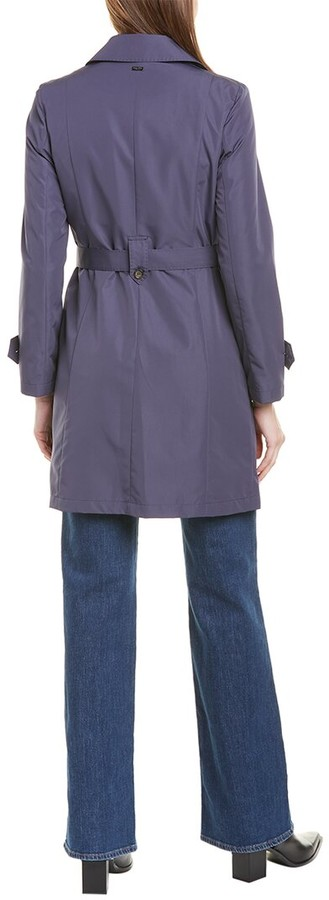 Thumbnail for your product : Cinzia Rocca Icons Double-Breasted Trench Coat