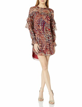 Haute Hippie Women's Kennedy Ruffle Dress