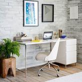 west elm Lacquer Storage Desk Set - Box File