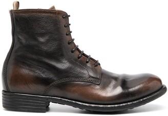 Officine Creative Calixte lace-up boots