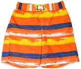 iXtreme Little Boys' Swimwear Paint Brushed Stripe Swim Trunk