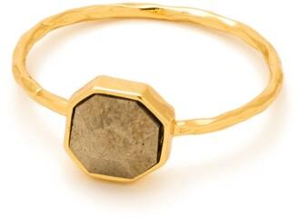 Gorjana Pyrite Power Gemstones Ring - Size 7
