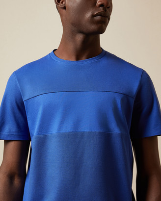 Ted Baker HELTER Cotton panelled T-shirt