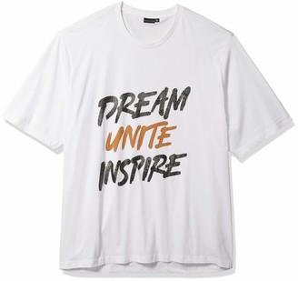 Sean John Men's Size Short Sleeve Crew Neck Dream Unite Inspire Tee