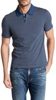 Original Penguin Short Sleeve Stripe Slim Fit Polo