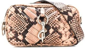 Rebecca Minkoff Quilted Snakeskin Effect Belt Bag