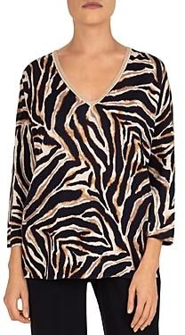 Gerard Darel Erisilia Animal Print Sweater