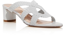 Stuart Weitzman Women's Sarita 50 Strappy Slip On Sandals