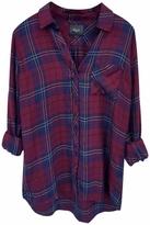 Rails Hunter Plaid Shirt in Oxblood/Navy
