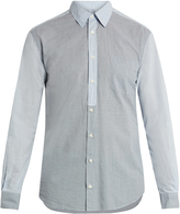 HELBERS Vichy-checked cotton shirt