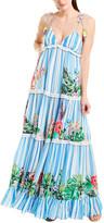 Rococo Sand Striped Maxi Dress