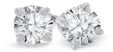 Zales 2 CT. T.W. Diamond Solitaire Stud Earrings in Platinum (I/SI2)