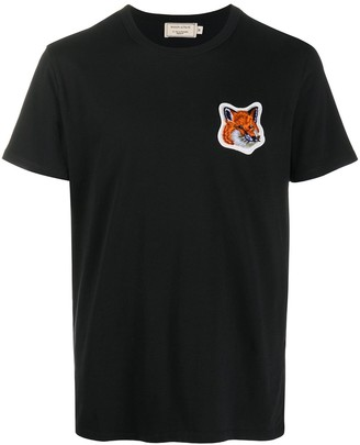 MAISON KITSUNÉ Embroidered Fox Patch T-Shirt