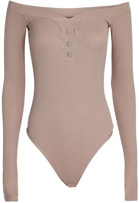 Alix Sutton Off-the-Shoulder Bodysuit