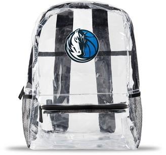 clear Dallas Mavericks Team Logo School Bag