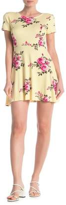 HIATUS Tie Back Short Sleeve Dress