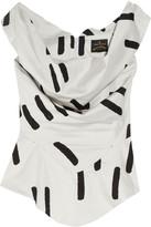 Vivienne Westwood Marghi off-the-shoulder cotton blouse