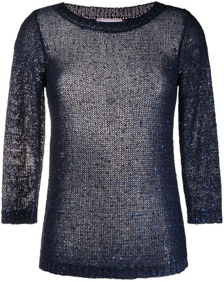 Snobby Sheep Sequin-Embellished Top