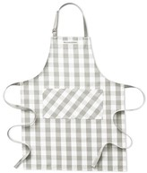 Williams-Sonoma Williams Sonoma Checkered Adult Apron, Drizzle Grey