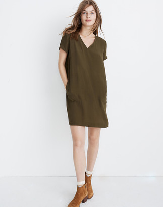 Madewell Button-Back Easy Dress