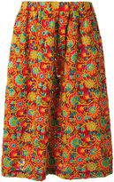 Comme des Garcons floral print skirt - women - Rayon - 1