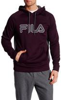 Fila Micro Grid Logo Hoodie Pullover