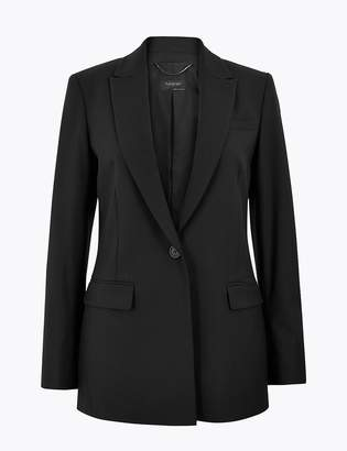 Wool Silk Blend Tailored Blazer by Marks and Spencer, available on shopstyle.com for $175 Kate Middleton Outerwear SIMILAR PRODUCT