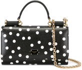 Dolce & Gabbana spotted mini Von crossbody bag