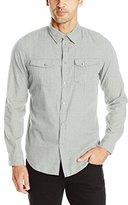 Calvin Klein Jeans Men's Brushed Heather Twill Shirt