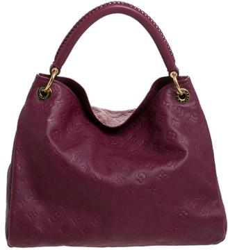 Louis Vuitton Aurore Monogram Empreinte Leather Artsy MM Bag