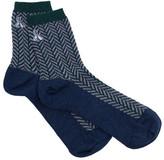 Pendleton Women's Herringbone Anklet Crew Sock (2 Pairs)