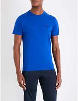 BOSS GREEN Crewneck cotton-jersey T-shirt