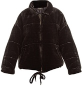 Isabel Marant Telima quilted-velvet jacket