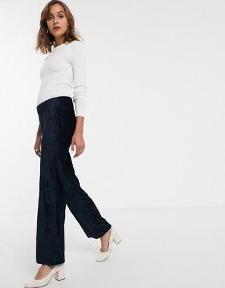 Just Female Jules velvet cord trousers