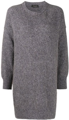 Roberto Collina Ardesia longline sweater