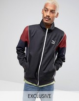 Puma Vintage Tracksuit Jacket in Black Exclusive to ASOS