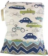 Logan & Lenora Classic Wet Bag - Cars