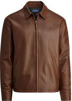 Polo Ralph Lauren Lambskin Leather Jacket