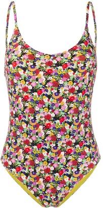 La DoubleJ Amalfi floral swimsuit