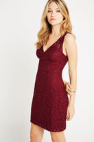 BCBGeneration Sleeveless Lace Dress - Red