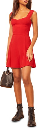 Reformation Holden Sleeveless Minidress