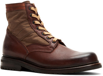Frye Mayfield Lace-Up Leather Boot
