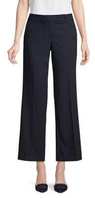 Calvin Klein Petite Flat Front Pants