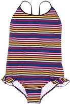 Sonia Rykiel Enfant TEEN scoop-back striped swimsuit